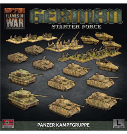 Battlefront Miniatures Late War German Panzer Kampfgruppe