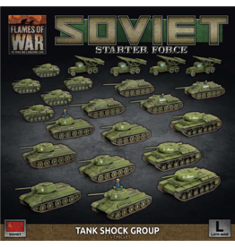 Battlefront Miniatures Soviet Late War Tank Shock Group