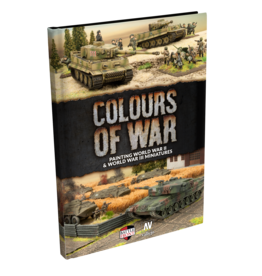 Battlefront Miniatures Colours of War (2019) WW2 Painting Guide