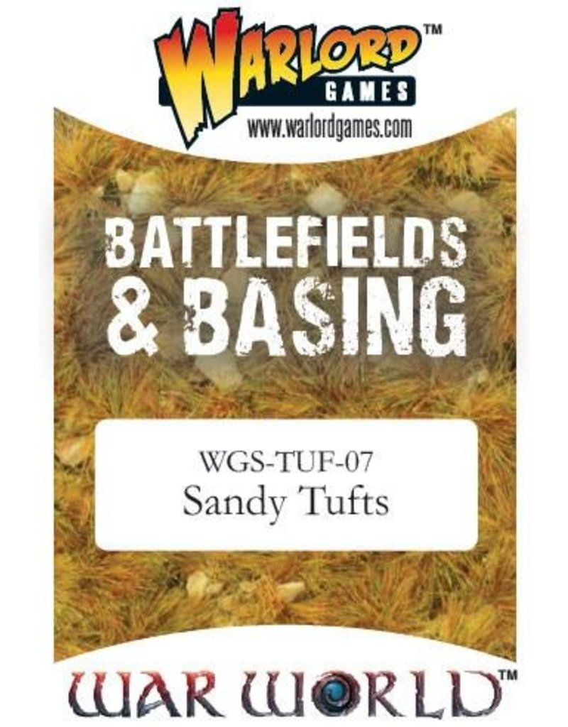 Warlord Games Scenics Sandy Tufts