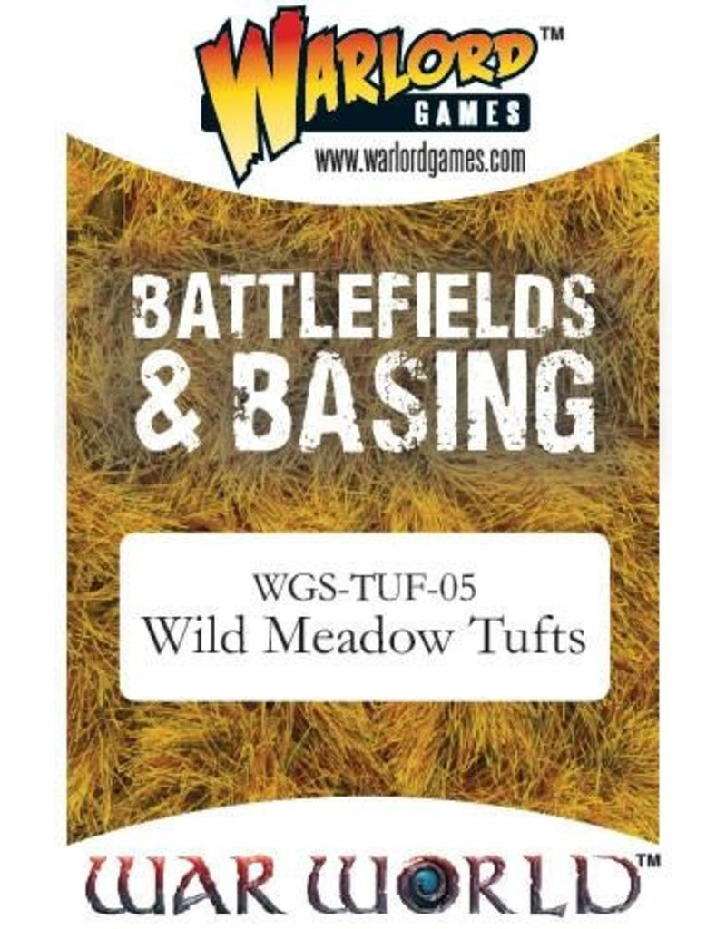Warlord Games Scenics Wild Meadow Tufts