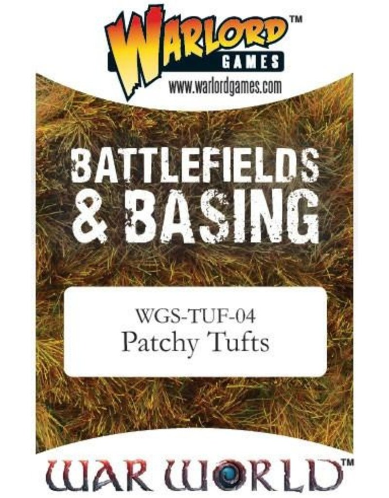 Warlord Games Scenics Patchy Tufts