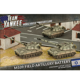 Battlefront Miniatures Oil War – M109 SP Artillery Battery