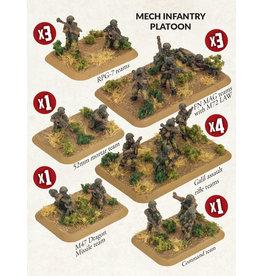 Battlefront Miniatures Oil War – Mech Infantry Platoon (Israel)