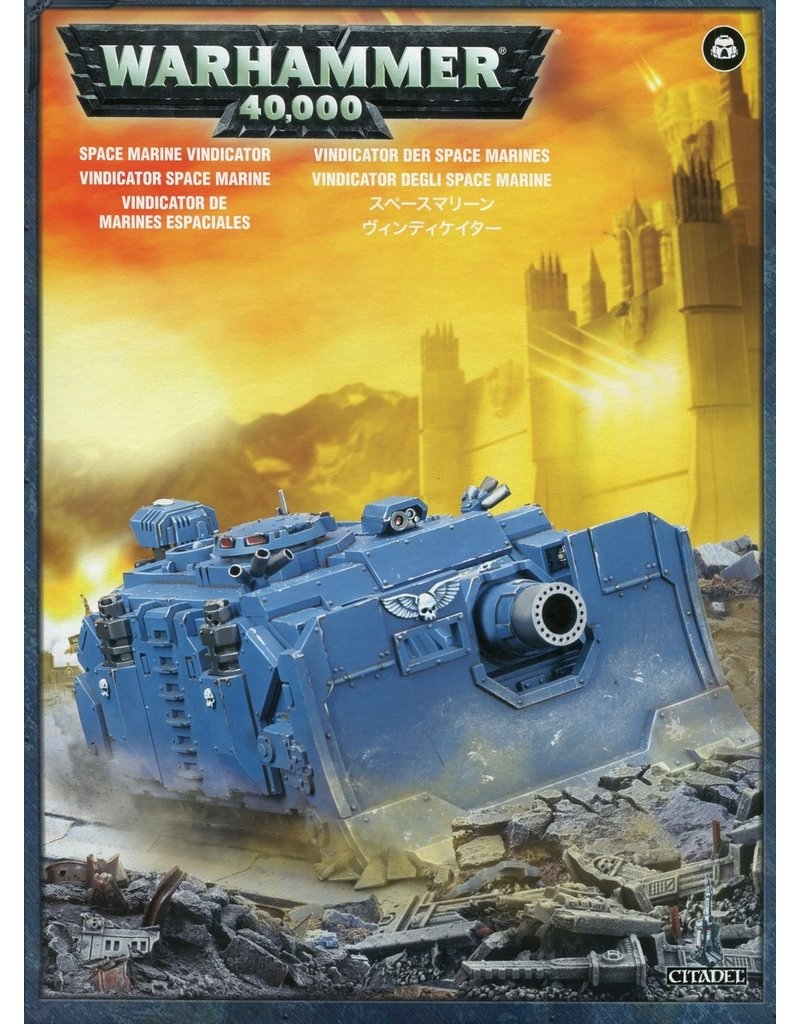 Games Workshop Adeptus Astartes Vindicator