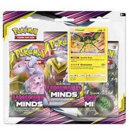 Pokemon Unified Minds Triple Booster Pack - Vikavolt
