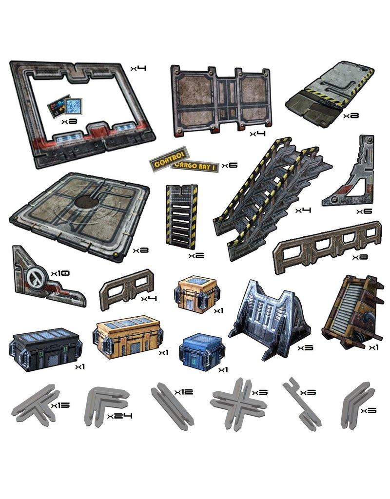 Battle Systems Outlands Delta Garrison Scenery Set