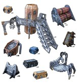 Battle Systems Engineering Sector Scenery Set