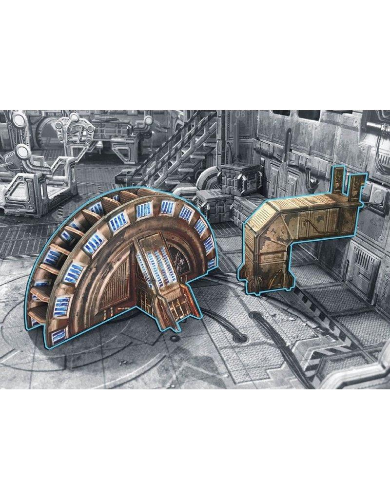 Battle Systems Industrial Turbine Scenery Set