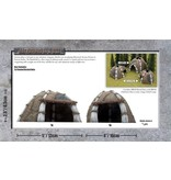 Gale Force 9 Bestial Huts - 30mm