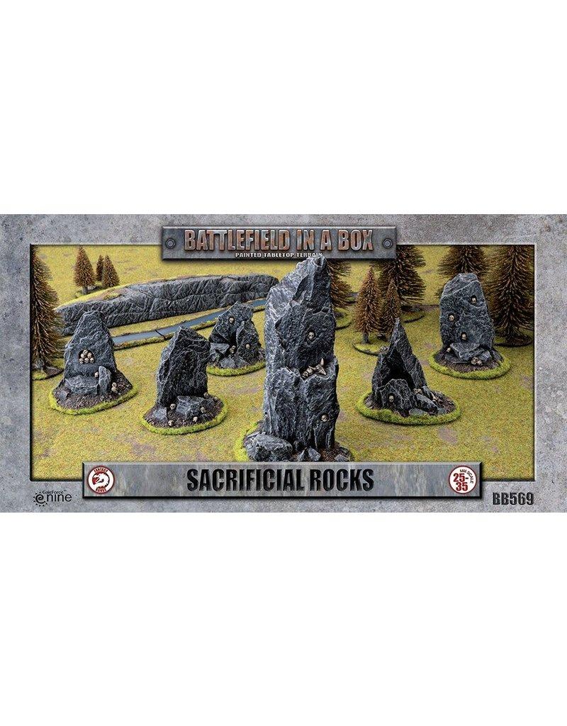 Gale Force 9 Sacrificial Rocks - 30mm