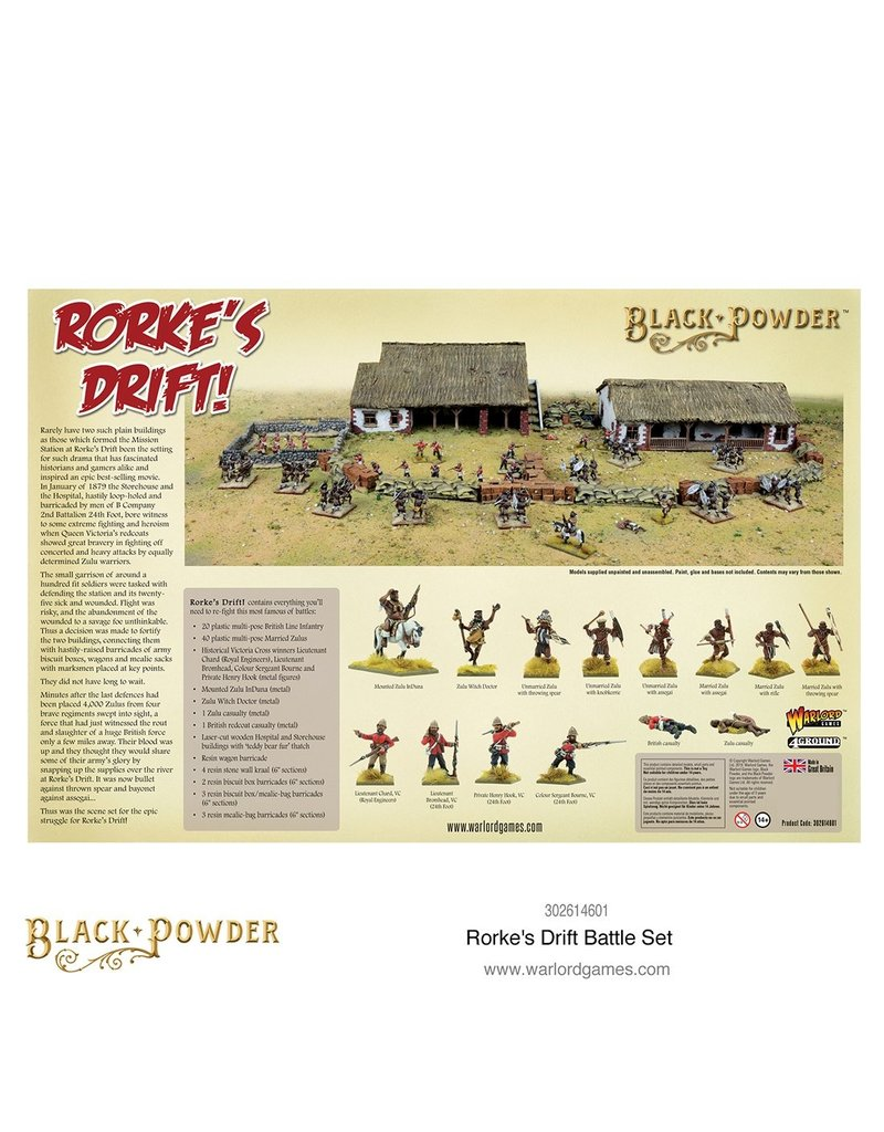 Warlord Games Black Powder: Rorke's Drift Battle set