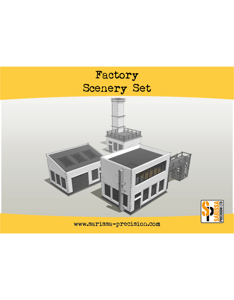 Warlord Games Bolt Action Factory Scenery Set