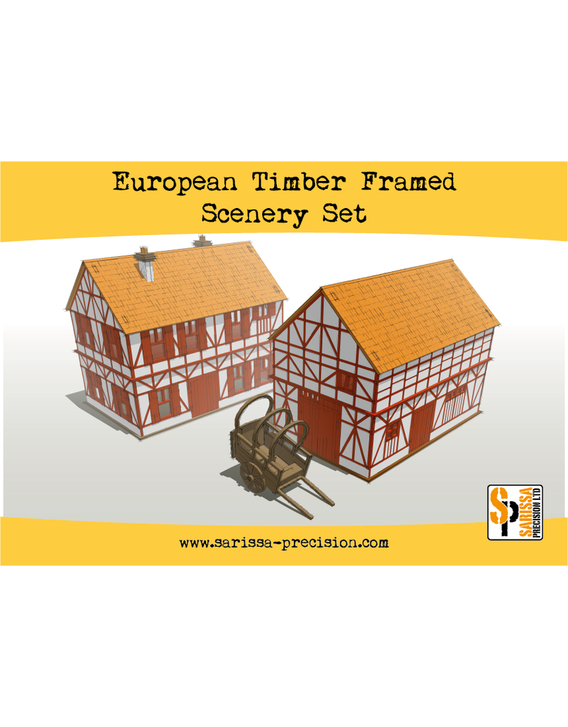 Warlord Games Historical European Timber Frame Scenery Set