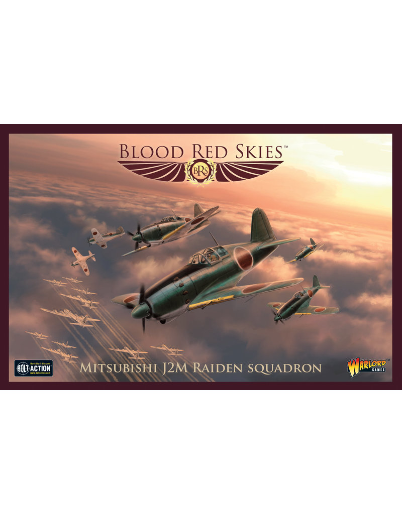 Warlord Games Imperial Japanese: J2M 'Raiden' Squadron