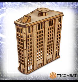 TT COMBAT Level Steel Building