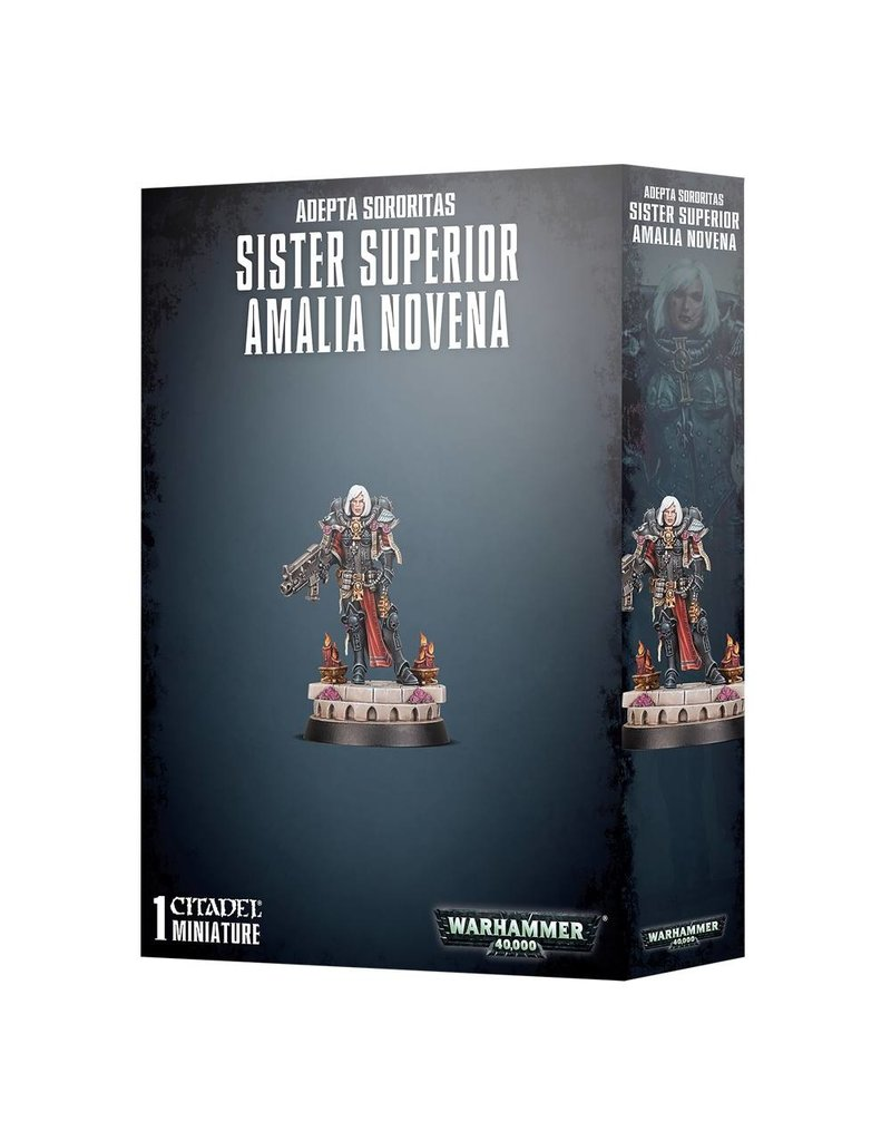 Games Workshop Adeptus Sororitas Sister Superior Amalia Novena