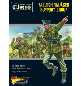 Warlord Games Fallschirmjager Support Group