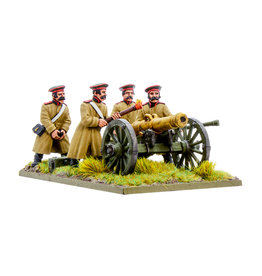 Warlord Games Crimean War Russian Foot Artillery with 12-pdr Cannon