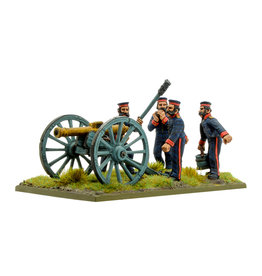 Warlord Games Crimean War British Royal Artillery with 9-pdr Cannon