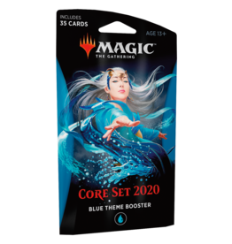 Wizards of the Coast Core 2020 Theme Booster – Blue