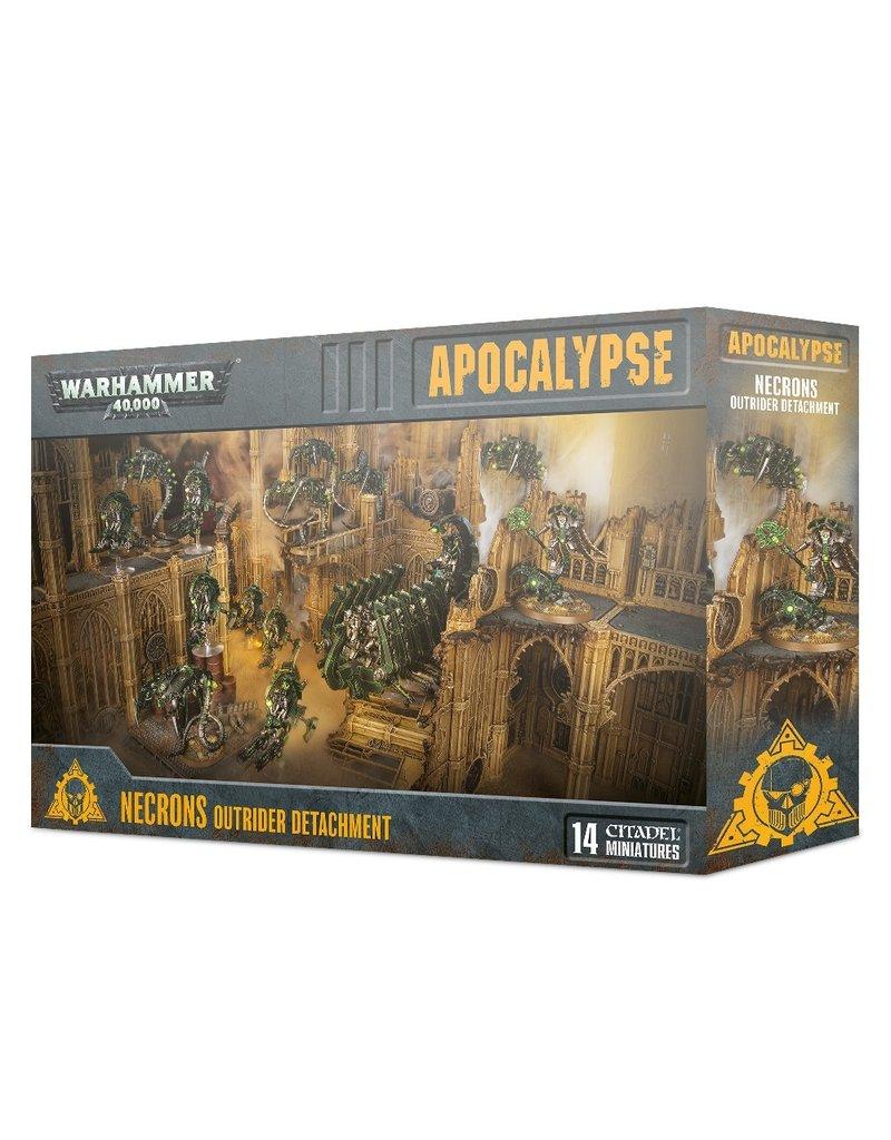 Games Workshop 40k Apocalypse: Necrons Outrider Detachment