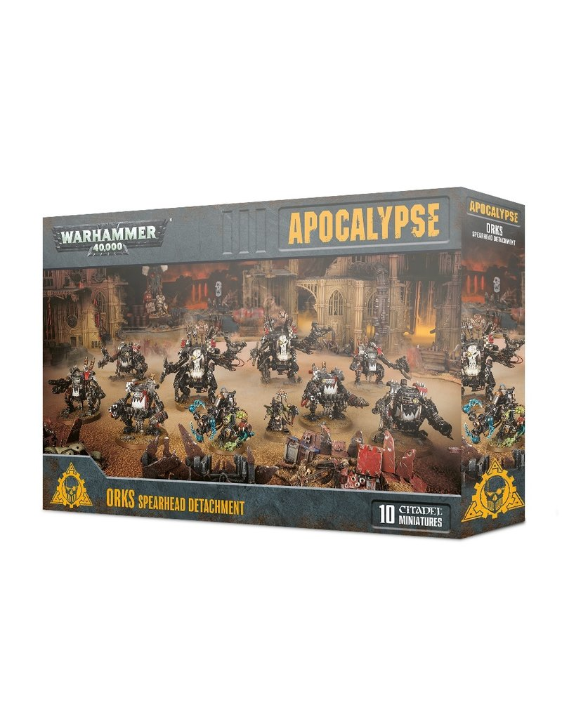 Games Workshop 40k Apocalypse: Orks Spearhead Detachment
