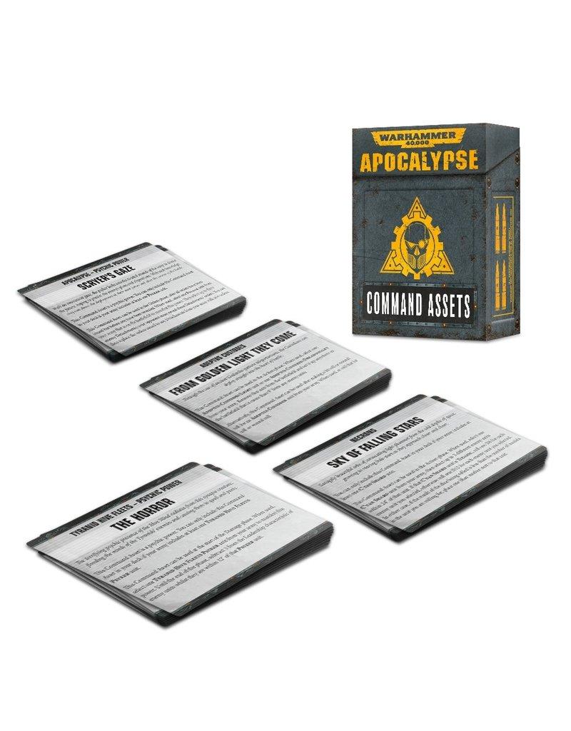 Games Workshop 40k Apocalypse Command Assets (EN)