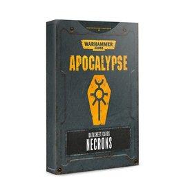 Games Workshop Apocalypse Data Sheets: Necrons (EN)