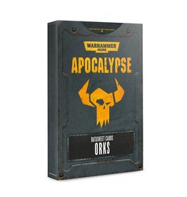 Games Workshop Apocalypse Data Sheets: Orks (EN)