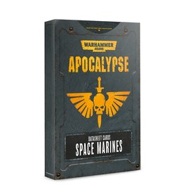 Games Workshop Apocalypse Data Sheets: Space Marines (EN)