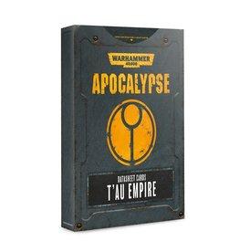 Games Workshop Apocalypse Data Sheets: Tau Empire (EN)