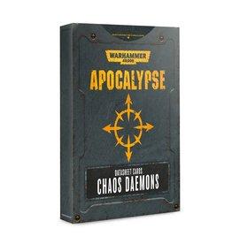 Games Workshop Apocalypse Data Sheets: Chaos Daemons (EN)