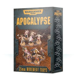 Games Workshop Apocalypse Movement Trays (25MM)