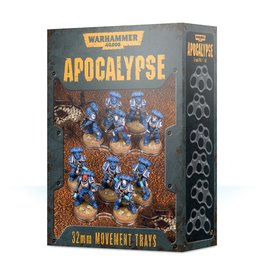 Games Workshop Apocalypse Movement Trays (32MM)