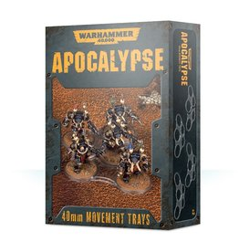 Games Workshop Apocalypse Movement Trays (40MM)