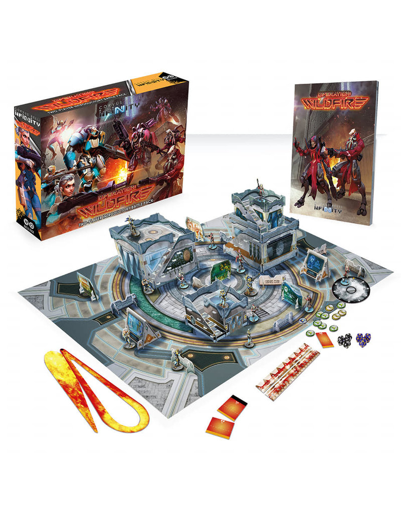 Corvus Belli Infinity The Game Operation: Wildfire (Two-Player Box Set)
