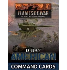 Battlefront Miniatures D-Day US Late War Command Cards