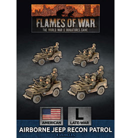 Battlefront Miniatures D-Day US Airborne Recon Section