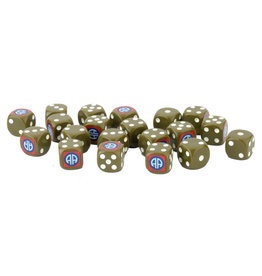 Battlefront Miniatures D-Day US 82nd Airborne Division Dice