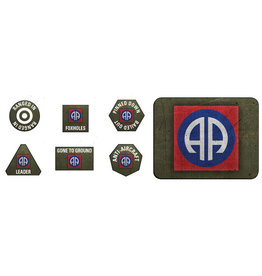 Battlefront Miniatures US 82nd Airborne Division Tokens & Objectives