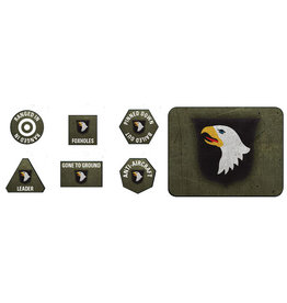 Battlefront Miniatures US 101st Airborne Division Tokens & Objectives