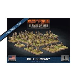 Battlefront Miniatures Late War US Rifle Company