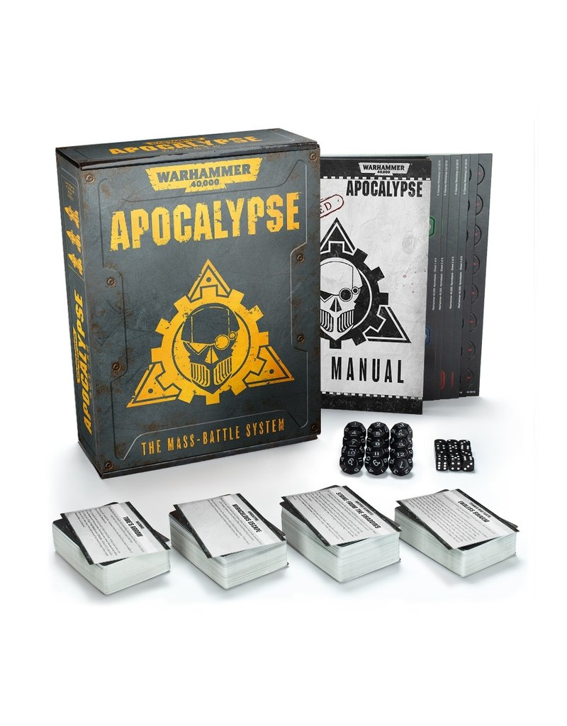 Games Workshop Warhammer 40000: Apocalypse Core Rules (EN)