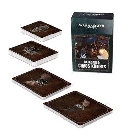Games Workshop Datacards: Chaos Knights (8th ed) (EN)