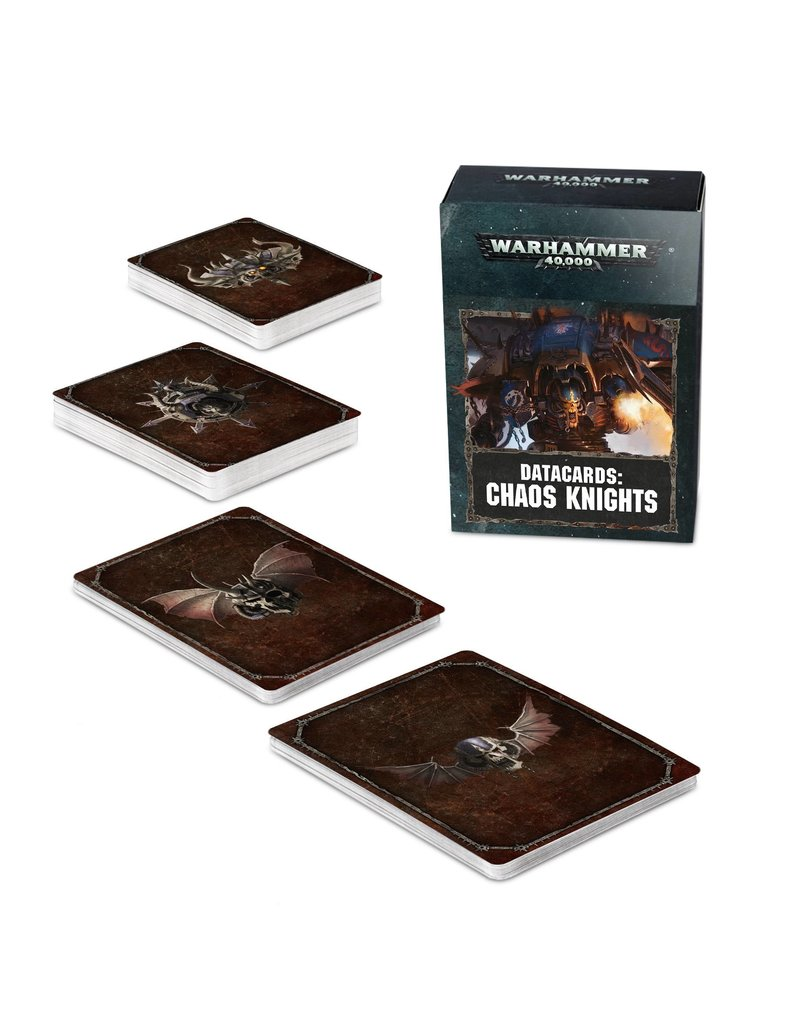 Games Workshop Datacards: Chaos Knights (8th Edition) (EN)