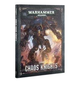 Games Workshop Codex: Chaos Knights (8th Ed) (HB) (EN)