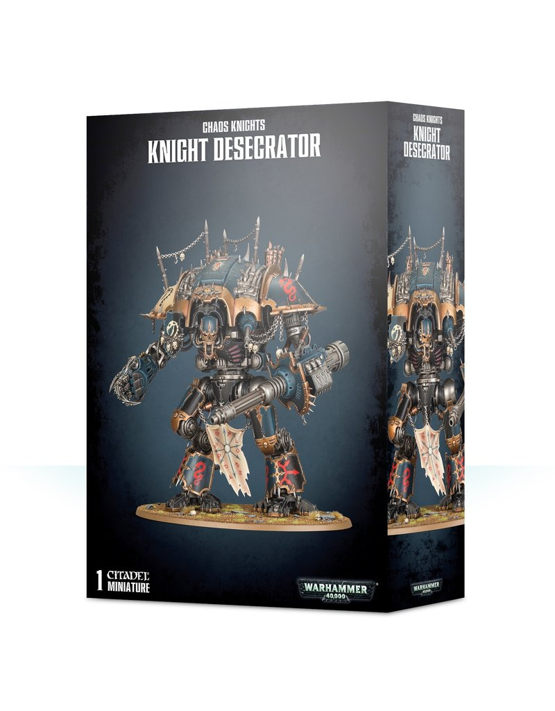 Games Workshop Chaos Knights: Knight Desecrator / Rampager Knight Titan