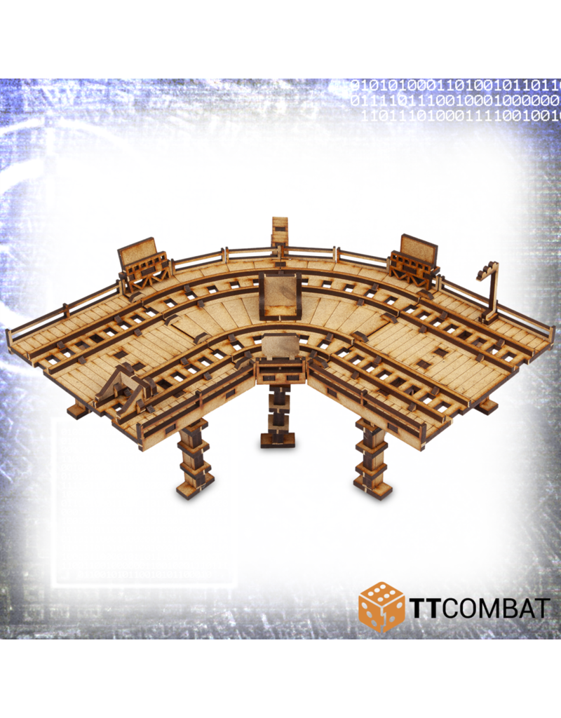 TT COMBAT Sci-fi X: High Line Track Curve