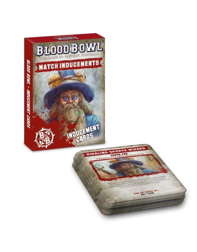 Games Workshop Blood Bowl: Inducements Cards (EN)